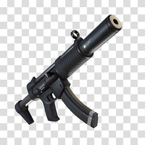 black ump sub-metralhadora com silenciador, fortnite batalha royale submachine arma arma batalha royale jogo, arma png