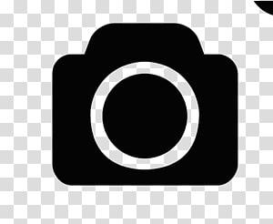 ícone da câmera, logotipo Ícone da câmera, logotipo da câmera em preto e branco PNG clipart