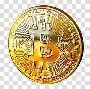 bitcoin redondo dourado, Bitcoin Cryptocurrency, Bitcoin png
