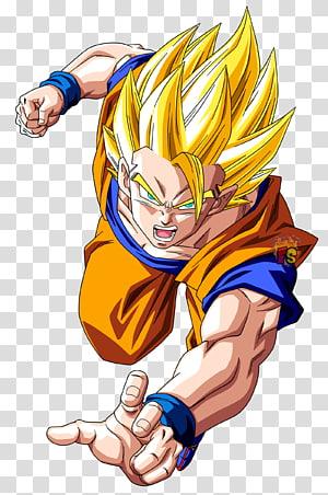Dragon Ball Son Goku, Goku Gohan Vegeta Super Saiyajin Dragon Ball, Dragon Ball Z png