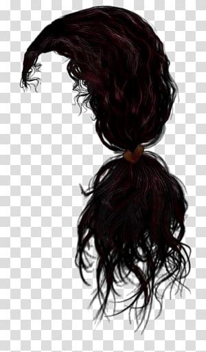 Peruca para transplante de cabelo Cabelo comprido, Cabelo 4, cabelo preto encaracolado PNG clipart