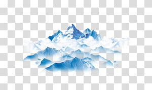 iceberg PNG clipart