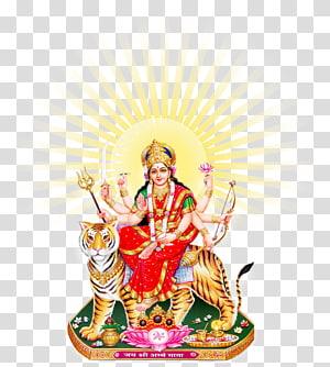 Pintura de Shiva, Durga Puja Kali, Deusa Durga Maa PNG clipart