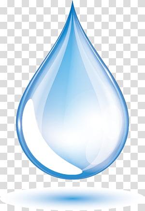Gota euclidiana, gotas de água azul, ilustração de lágrima png