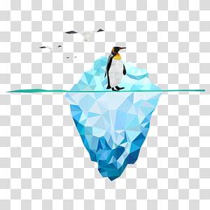 Geometria do pinguim Iceberg, iceberg PNG clipart
