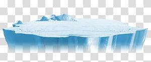 ilustração da geleira, iceberg, iceberg PNG clipart