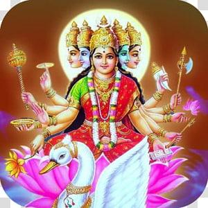 Mantra Gayatri Devi Om, Durga Maa PNG clipart
