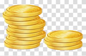 Moeda de ouro, pilha de moedas, lote Bitcoin dourado png