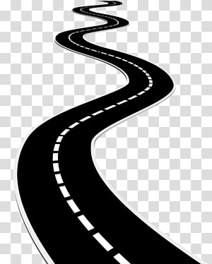 gráfico de estrada preto, superfície da estrada, estrada png