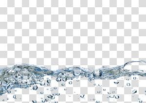 ilustração de água, bolhas de água png