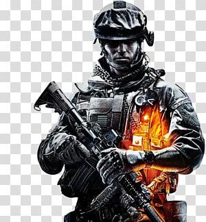 soldado, Battlefield 3 Battlefield 2 Battlefield 4 Videogame para Xbox 360, Call Of Duty Free png
