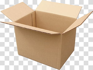 caixa de papelão marrom aberta, caixa de papelão Relocation Fabrika Pereyezda Embalagem e etiquetagem, caixa aberta png