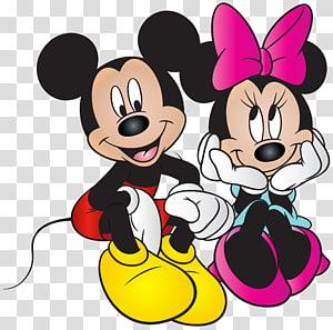 Mickey Mouse Minnie Mouse Pato Donald Pateta Margarida, Mickey e Minnie Mouse Grátis, ilustração Minnie e Mickey Mouse PNG clipart