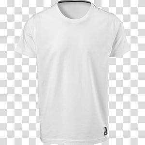 camiseta branca com gola alta, camiseta estampada com roupas brancas, camiseta branca PNG clipart