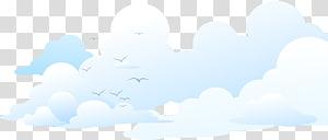 céu, marca céu nuvem azul, fundo de nuvens de gaivota PNG clipart