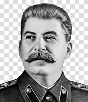 escala de cinza do homem vestindo camisa de colarinho, Joseph Stalin Rússia Planos de cinco anos para a economia nacional da Segunda Guerra Mundial da União Soviética, Stalin png