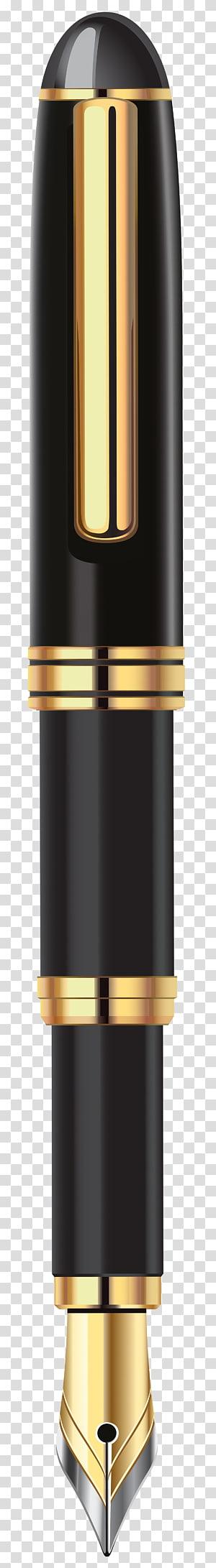 caneta-tinteiro preto, caneta-tinteiro de papel, caneta-tinteiro de luxo PNG clipart