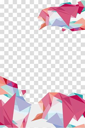 Geometria, fundo geométrico, arte multicolorida PNG clipart