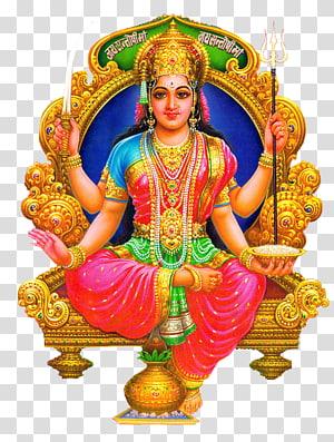deus hindu, jai santoshi maa lakshmi santoshi mata aarti deusa, lakshmi PNG clipart