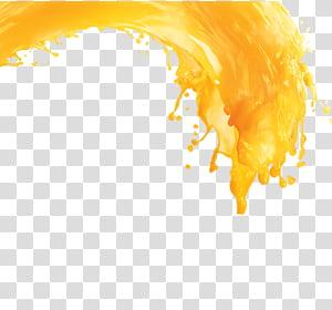 Bolo de aniversário de suco de laranja Suco de toranja, suco de laranja espirrando, suco de bebida PNG clipart