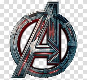 logotipo de vingadores de maravilha, homem de ferro de ultrason capitão de américa de youtube américa pantera negra, logotipo de infinito de herói PNG clipart