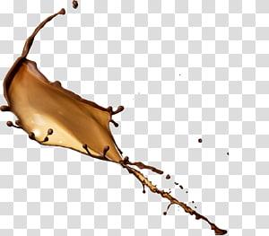 respingo de substância marrom, leite batido café chocolate com leite respingo PNG clipart