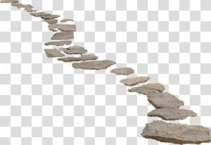 ilustração de fragmentos de pedra cinza, caminho, estrada de pedra png