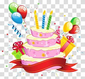 Convite de casamento Bolo de aniversário Cartão festa, bolo de aniversário, ilustração de bolo de aniversário png