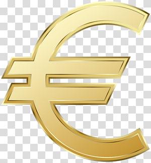 Euro cifrão, euro sinal nota de 100 euros Moedas de euro, símbolo do Euro png