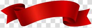 Bandeira fita vermelha, fita vermelha, ilustração de fita vermelha png