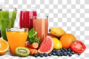 fatia de frutas e suco muito, Smoothie Juicer Blender Bottle, suco de frutas png