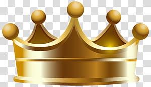 ilustração de coroa de ouro, coroa, coroa PNG clipart