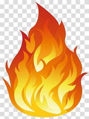 ilustração animada de fogo vermelho e amarelo, chama de fogo, chamas fundo s PNG clipart