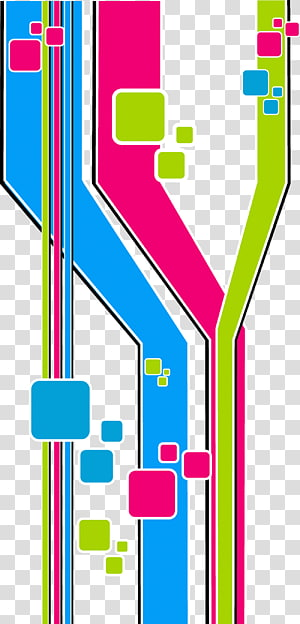 abstrato digital multicolorido, cor arte abstrata abstração geométrica, fundo colorido tecnologia PNG clipart