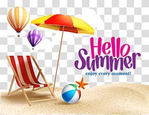 Verão Montgomery Academy, verão, Olá ilustração de verão PNG clipart