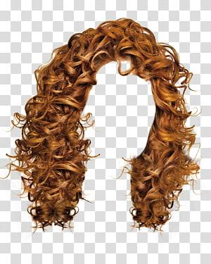 peruca marrom, máquina de cortar cabelo penteado, cabelo de mulheres PNG clipart