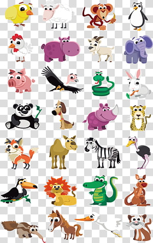 Animal fofo, animal PNG clipart
