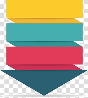 ilustração de seta multicolorida, infográfico Inconel, espiral para baixo seta fluxograma PNG clipart