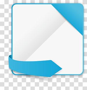 ilustração de cartão quadrado branco e verde-azulado, site, caixa de título de site fino png