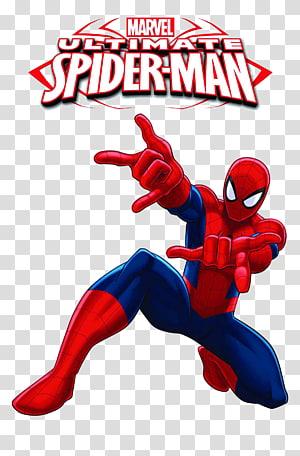 Marvel Ultimate Spider-Man illustration, Ultimate Spider-Man, homem-aranha png