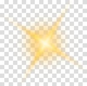 Luz solar, elemento de efeito de luz brilho dourado png