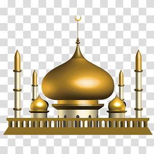 Taj Mahal ilustração 3D, Mesquita Islâmica Euclidiana Eid al-Fitr, 3D Ramadan Church png