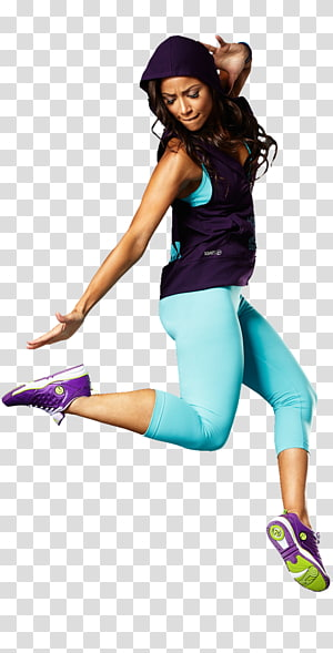 ilustração de mulher dançando, Zumba Fitness físico Dança Exercício físico Fitness Center, mulher poderosa png