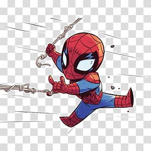 Marvel Spider-Man illustration, Spider-Man Drawing Marvel Comics Superhero, homem-aranha png