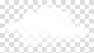 Ponto de marca em preto e branco, nuvem realista, nuvens brancas PNG clipart