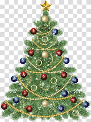 Árvore de Natal Dia de Natal, grande árvore de Natal com estrela, ilustração da árvore de Natal PNG clipart
