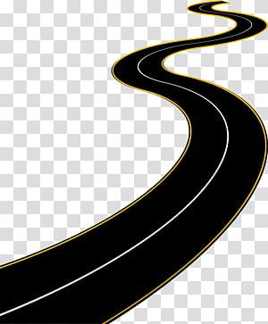 ilustração de estrada preta, estrada rodovia, rodovia rodovia png