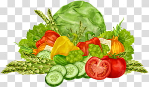 Vegetais de variedade variada, Alimentos orgânicos Vegetais de folhas Frutas, Vegetais ricos PNG clipart