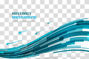 Linha euclidiana curva azul, fundo de tecnologia, abstrato png
