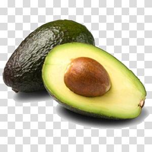 ilustração de frutas abacate verde fatiado, Hass abacate sementes de alimentos, frutas orgânicas abacate PNG clipart